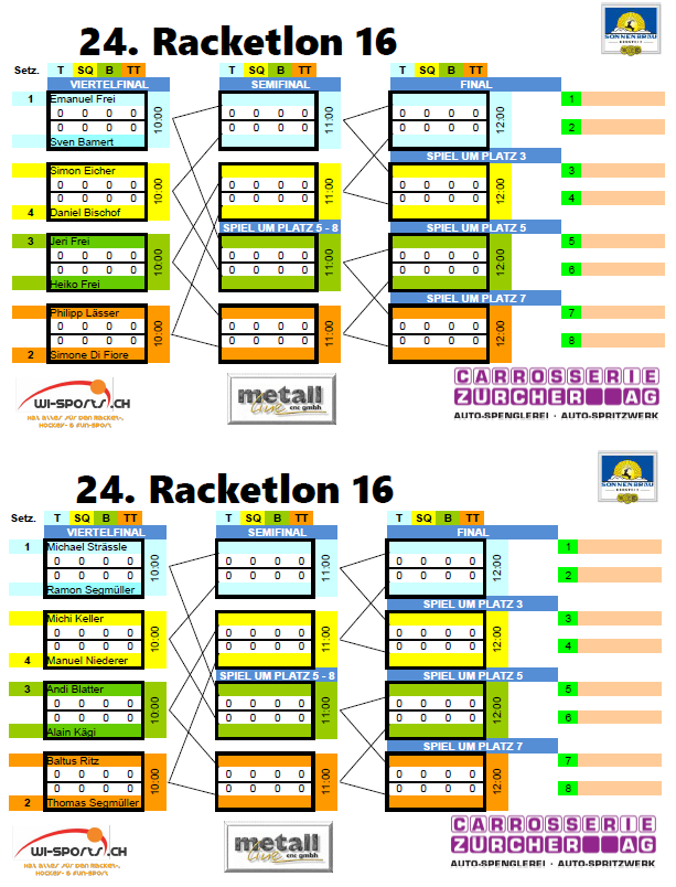 24 Racketlon